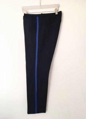 Marc O'Polo Pantalon de jogging bleu foncé-bleu viscose