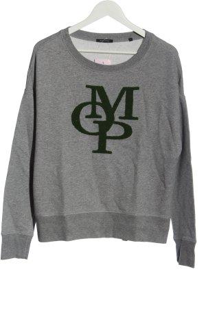 Marc O'Polo Sweat Shirt light grey-black flecked casual look