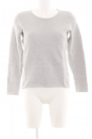 Marc O'Polo Sweatshirt hellgrau meliert Business-Look