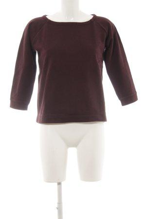 Marc O'Polo Sweatshirt brombeerrot schlichter Stil
