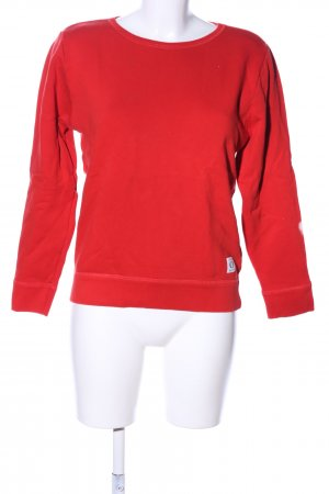 Marc O'Polo Sweatshirt rot Casual-Look