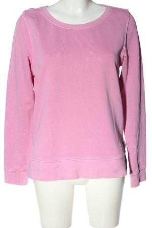 Marc O'Polo Sweatshirt pink Schriftzug gedruckt Casual-Look