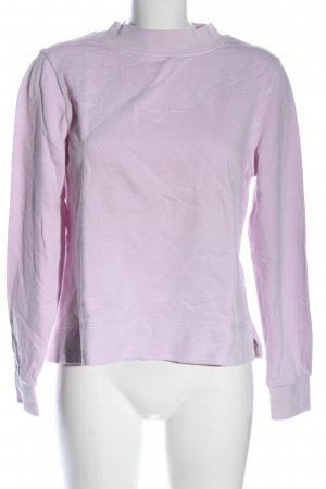 Marc O'Polo Sweatshirt lila Casual-Look