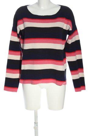 Marc O'Polo Sweatshirt Streifenmuster Casual-Look