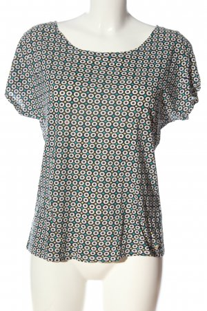 Marc O'Polo T-Shirt Allover-Druck Casual-Look