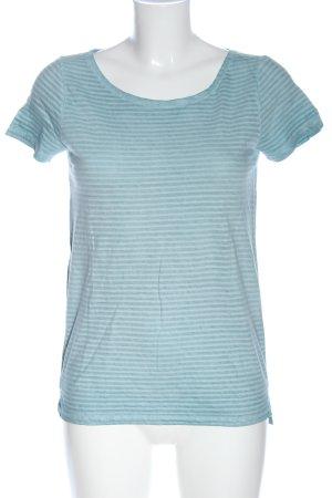 Marc O'Polo Camiseta azul estampado a rayas look casual