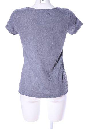 Marc O'Polo T-Shirt hellgrau meliert Casual-Look