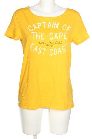 Marc O'Polo T-Shirt Schriftzug gedruckt Casual-Look