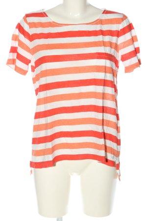 Marc O'Polo T-Shirt Streifenmuster Casual-Look