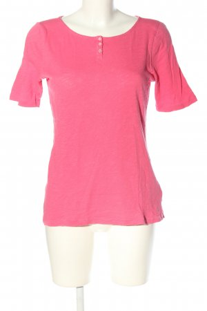 Marc O'Polo T-Shirt pink meliert Casual-Look