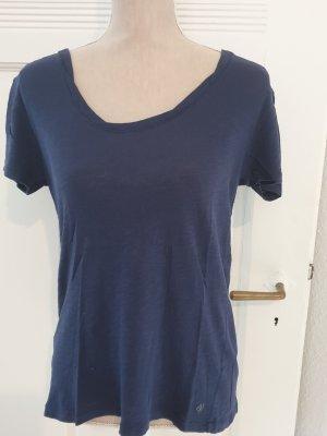 Marc O'Polo T-shirt bleu-bleu foncé coton