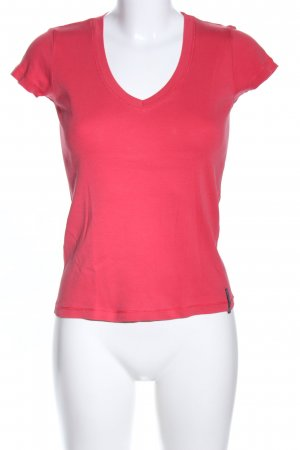 Marc O'Polo T-Shirt rot Casual-Look