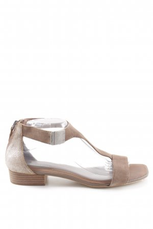 Marc O'Polo T-Strap Sandals natural white casual look