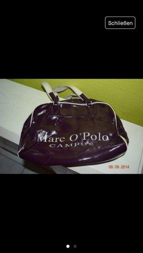 Campus by Marc O'Polo borsa ventiquattrore marrone-viola