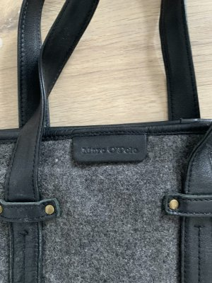 Marc O Polo Tasche, grau/schwarz