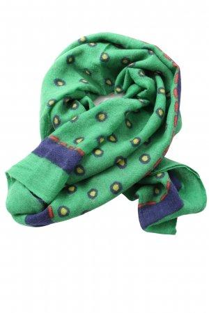 Marc O'Polo Traditional Scarf green-blue allover print casual look