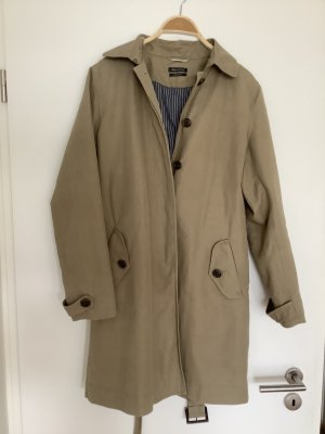 Marc O'Polo Trench Coat sand brown cotton