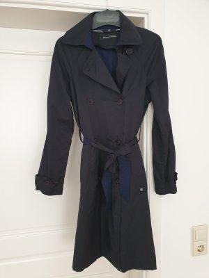 Marc O'Polo Trench Coat dark blue
