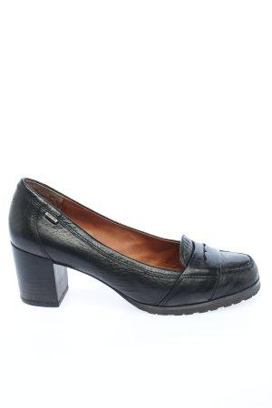 Marc O'Polo Loafers zwart zakelijke stijl
