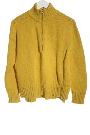 Marc O'Polo Sailor Sweater light orange cable stitch casual look