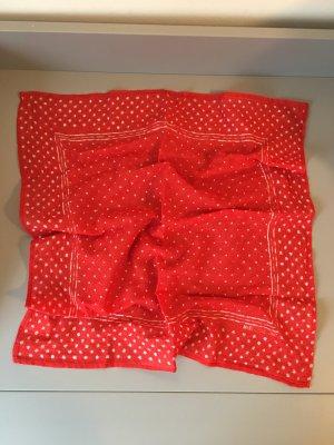Marc O'Polo Neckerchief red-white cotton