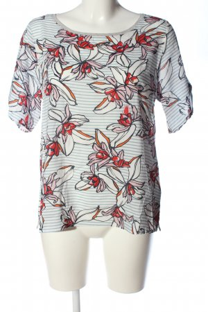 Marc O'Polo U-Boot-Shirt abstraktes Muster Casual-Look