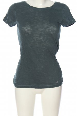 Marc O'Polo U-Boot-Shirt blau Casual-Look