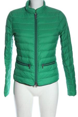 Marc O'Polo Veste mi-saison vert motif de courtepointe style décontracté