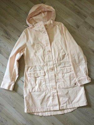 Marc O'Polo Between-Seasons-Coat cream cotton