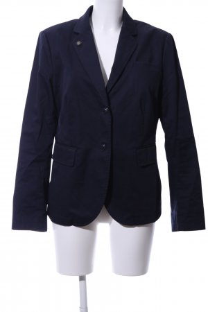 Marc O'Polo Unisex-Blazer blau Business-Look
