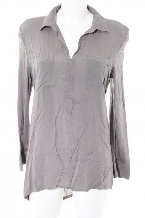 Marc O'Polo V-Ausschnitt-Shirt hellgrau Business-Look