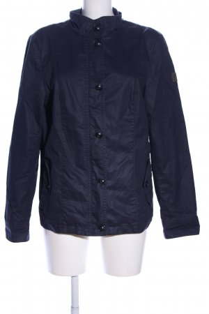 Marc O'Polo Wachsjacke blau Casual-Look