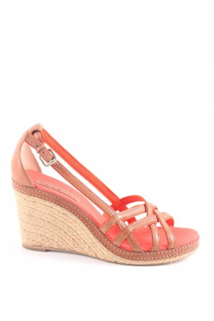 Marc O'Polo Wedges Sandaletten rot Casual-Look