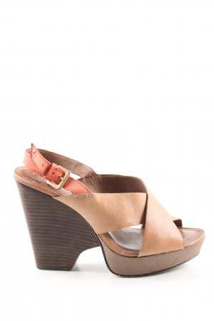 Marc O'Polo Wedges Sandaletten mehrfarbig Casual-Look