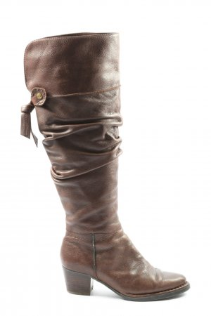 Marc O'Polo Wide Calf Boots brown casual look