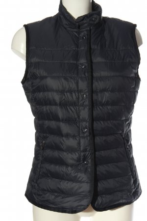 Marc O'Polo Reversible Vest black quilting pattern casual look