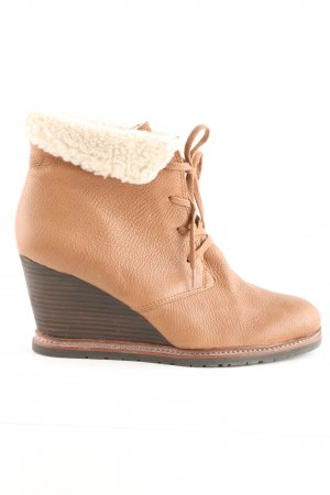 Marc O'Polo Winter-Stiefeletten nude-braun Casual-Look