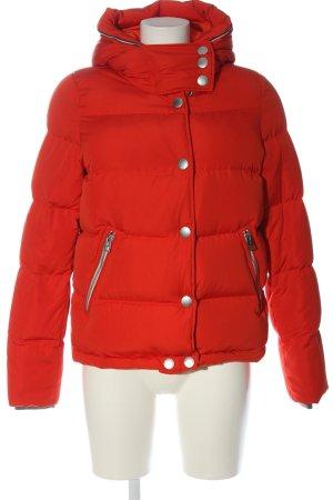Marc O'Polo Kurtka zimowa czerwony Pikowany wzór W stylu casual