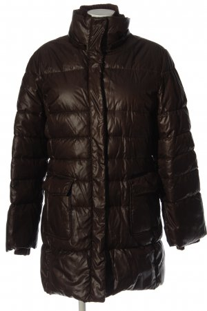 Marc O'Polo Winter Jacket brown quilting pattern casual look