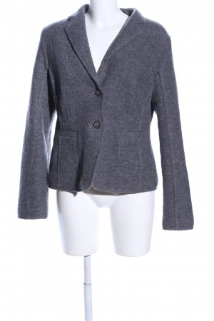 Marc O'Polo Woll-Blazer hellgrau meliert Business-Look