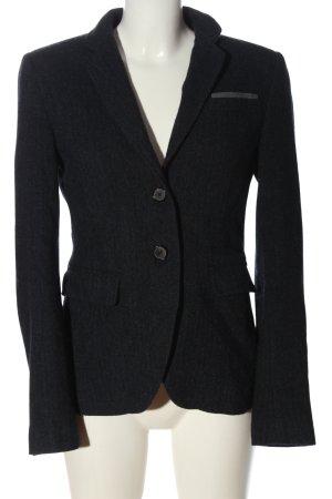 Marc O'Polo Blazer de lana negro moteado look casual