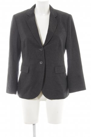 Marc O'Polo Woll-Blazer anthrazit-hellgrau Nadelstreifen Business-Look