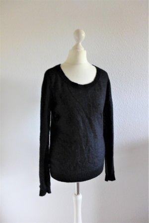 Marc O'Polo Woll Pullover Pulli scandi schwarz Gr. S 36