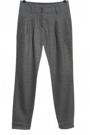 Marc O'Polo Woolen Trousers light grey flecked casual look