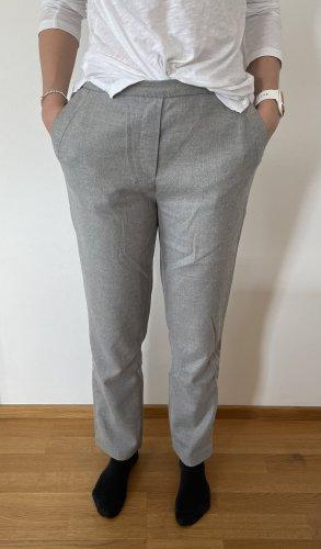 Marc O'Polo Wełniane spodnie jasnoszary