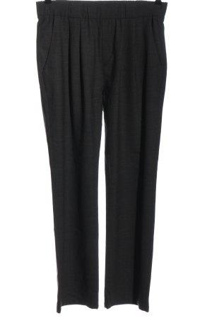 Marc O'Polo Wełniane spodnie czarny W stylu casual