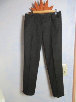 Marc O'Polo Pantalón de lana gris antracita tejido mezclado
