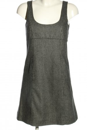 Marc O'Polo Wollkleid schwarz-weiß Streifenmuster Casual-Look
