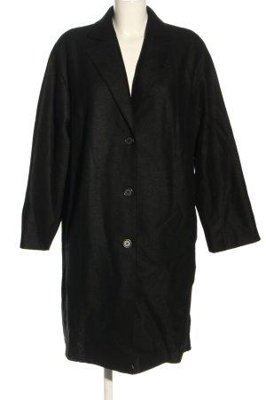 Marc O'Polo Abrigo de lana negro look casual