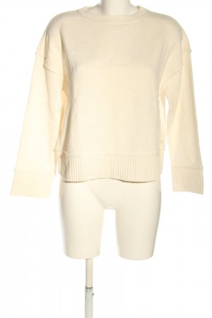 Marc O'Polo Wollpullover creme Casual-Look